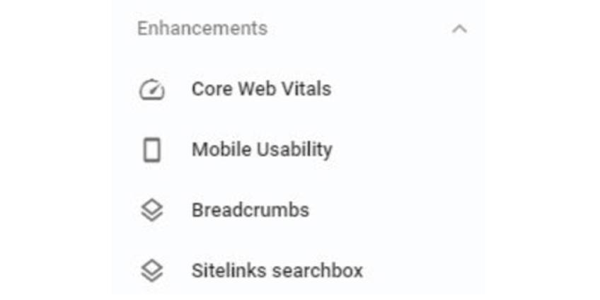 Core Web Vitals Report