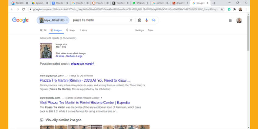 How To Reverse Image Search On Google Using Desktop Browser