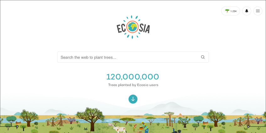 Ecosia: Search Engine Alternative To Google For Trees